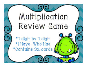 Multiplication I have who has game cover
